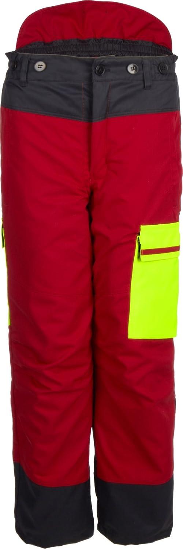 Forstschutz Bundhose Forest Jack Red Schnittschutzhose Klasse1 8-3300