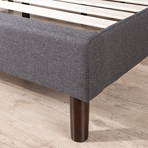 Zinus FGPP-K Upholstered Platform Bed, King