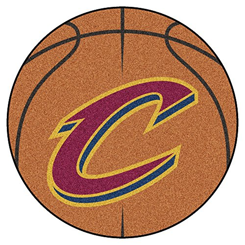 fan products of FANMATS NBA Cleveland Cavaliers Nylon Face Basketball Rug