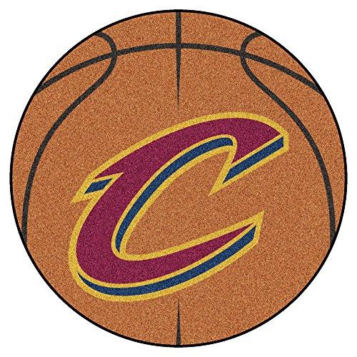 Cavaliers Mats Car (Fanmats NBA Cleveland Cavaliers Nylon Face Basketball Rug)