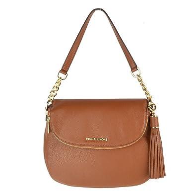 35be46996a8e MICHAEL by Michael Kors Bedford Tan Tassel Convertible Shoulder Bag one  size Tan