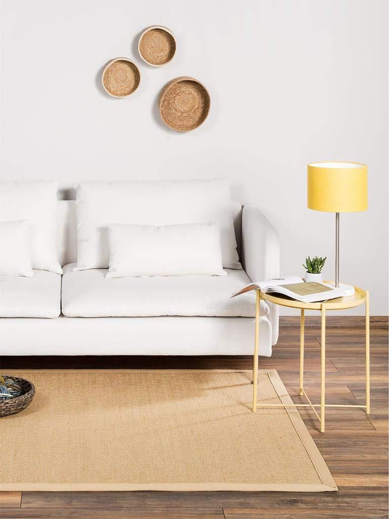 Benuta Sisal Sisal Sisal Teppich mit Bordüre Rot 120x180 cm   Naturfaserteppich für Flur und Wohnzimmer B00KQ10KQC Teppiche c229a8