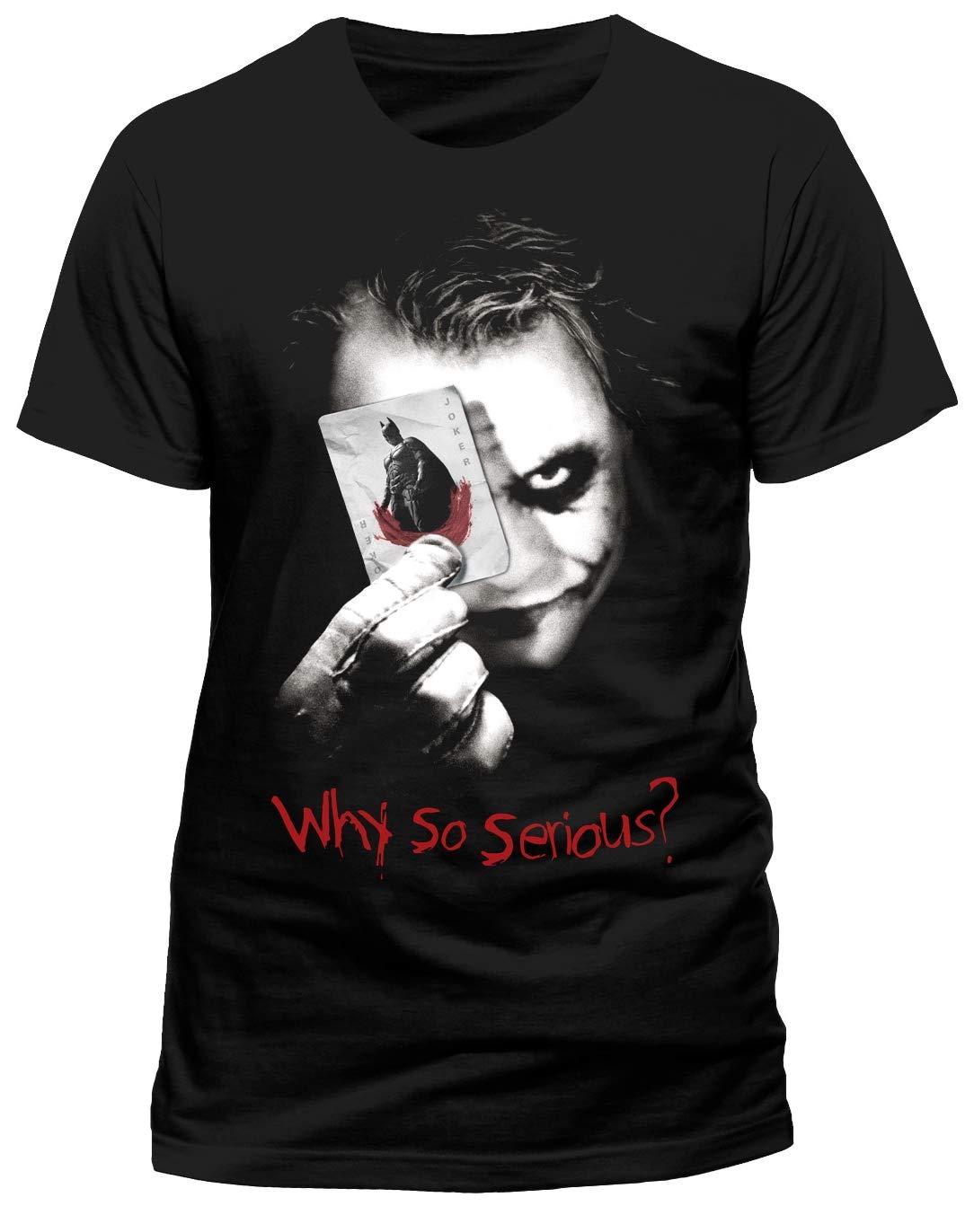 Cid Batman The Dark Knight Why So Serious Tshirt