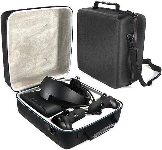 Ritapreaty Estuche rígido Oculus Rift S Auriculares y Juegos para Videojuegos VR para PC Powered Bolsa portátil de protección Estuche de Almacenamiento: Amazon.es: Hogar
