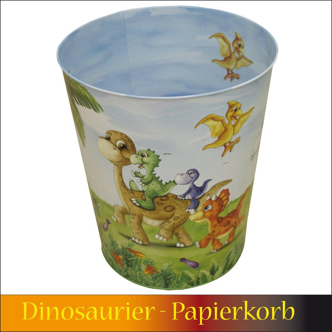 Papierkorb Metall Dinosaurier Verlag Jürgen Döll