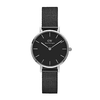 Daniel Wellington Reloj Analógico para Mujer de Cuarzo con Correa en Acero Inoxidable DW00100246: Amazon.es: Relojes