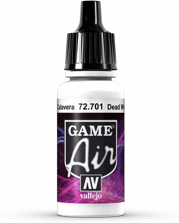 Vallejo Game Air Dead White Paint