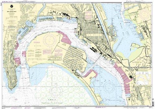 NOAA Chart 18773: San Diego Bay