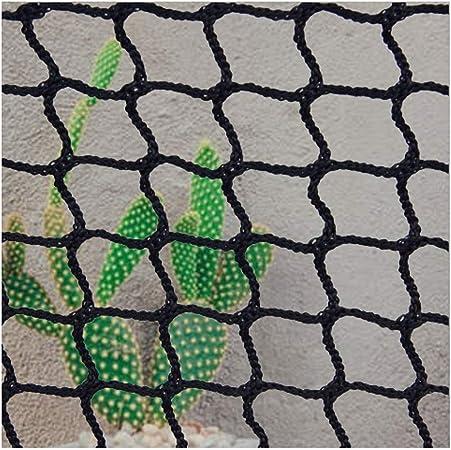 Red Seguridad Gatos,Red Cuerda Negra Escalera Bebe de Terraza Seguridad Niños Deportes Escaleras Protección para Balcones Malla Nylon Goal Net Nets Redes Bola Campo Aire Libre Futbol Golf Bola: Amazon.es: Hogar