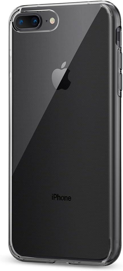 Spigen Liquid Crystal [2nd Generation] Designed for Apple iPhone 8 Plus Case (2017) / Designed for iPhone 7 Plus Case (2016) - Crystal Clear