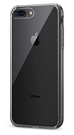 hot sales 3e15d 777ef Spigen Liquid Crystal [2nd Generation] Designed for Apple iPhone 8 Plus  Case (2017) / Designed for iPhone 7 Plus Case (2016) - Crystal Clear