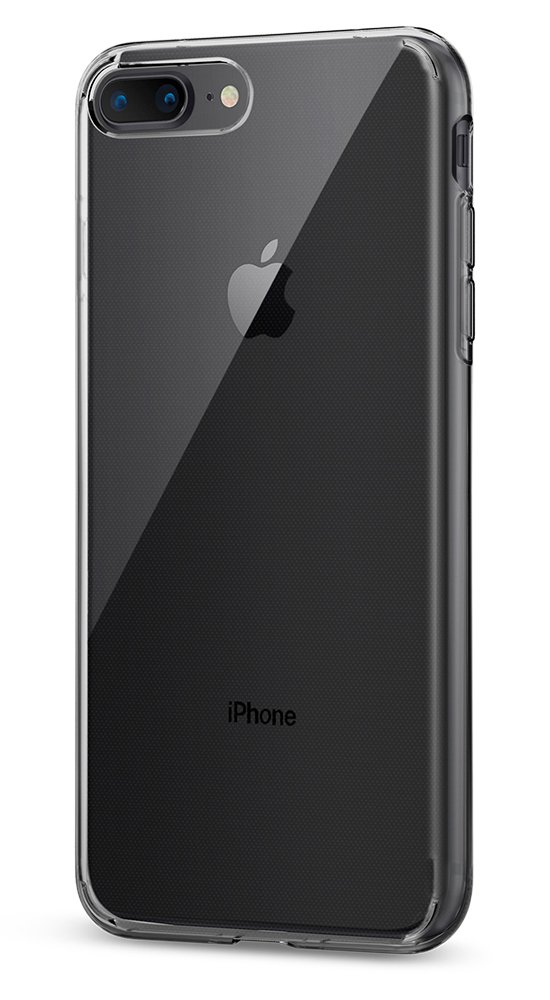 Spigen Liquid Crystal [2nd Generation] Designed for iPhone 8 Plus Case (2017) / Designed for iPhone 7 Plus Case (2016) - Crystal Clear