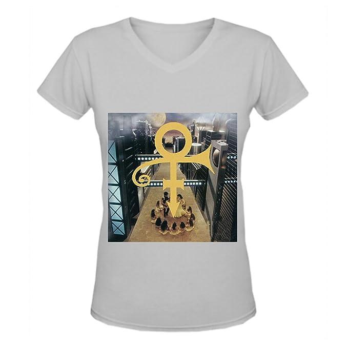 Love Symbol Album Prince Album Funk Ladies V Neck Graphic T Shirts