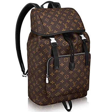 Image Unavailable. Image not available for. Color  Louis Vuitton Monogram  Macassar Canvas Zack Backpack ... 9faad79063