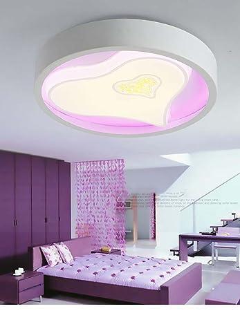 Wohnzimmer Deckenle kreativ haushalt deckenleuchte led herzförmigen europäischen stil