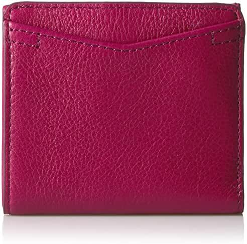 Fossil Caroline Rfid Mini Wallet Raspberry Wine Wallet