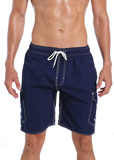 TALLA M(waistline=34-36 inch). ORANSSI Swim Trunks Beach Surf Shorts - Bañador - para hombre