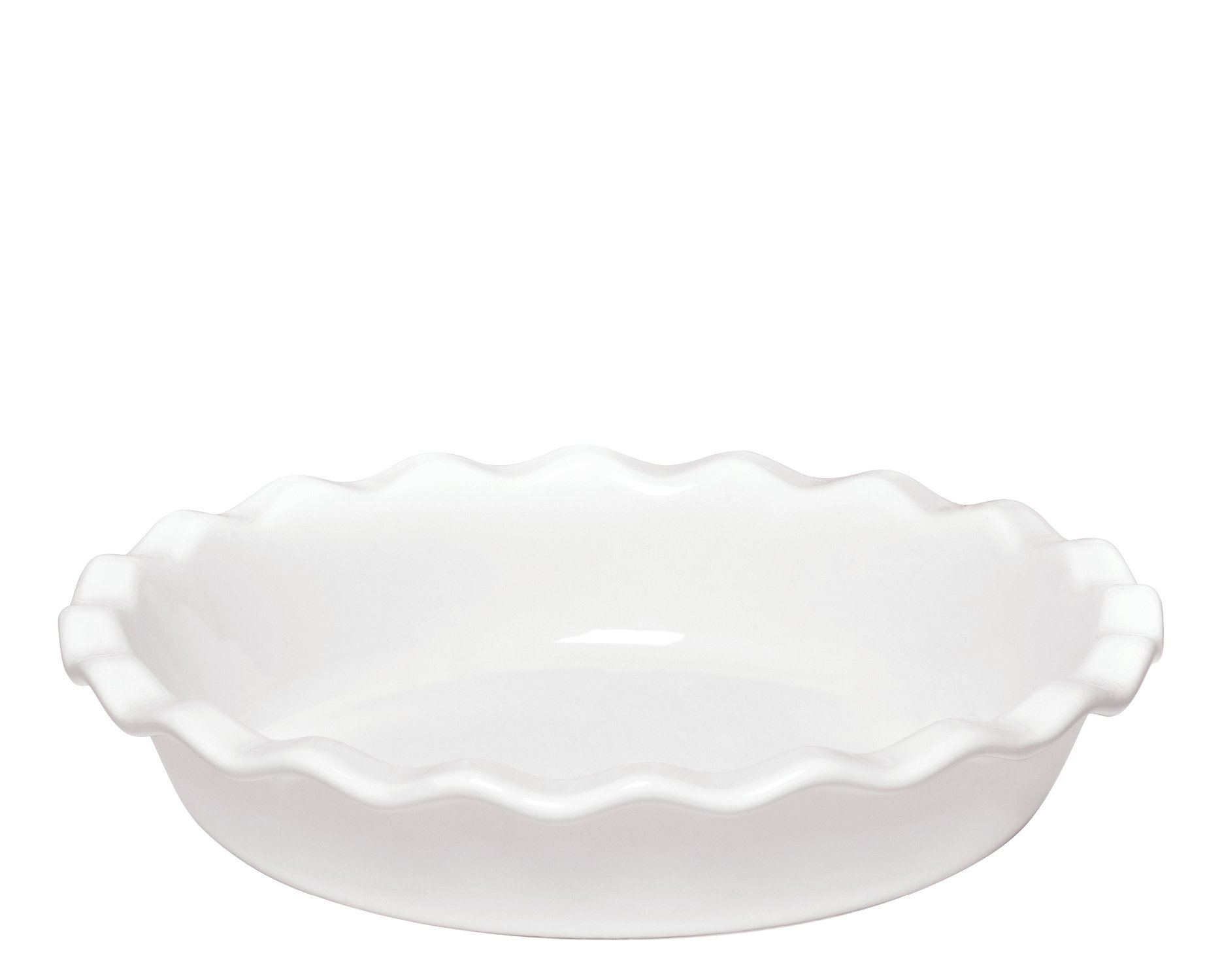 Emile Henry Made In France 9 Inch Pie Dish, Flour by Emile Henry