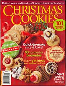 Better Homes And Gardens Special Interest Publications Xmas Cookies 2008 Issue Editors Of