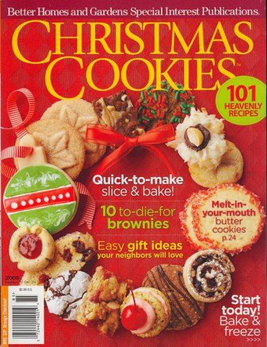 Better Homes And Gardens Special Interest Publications Xmas Cookies