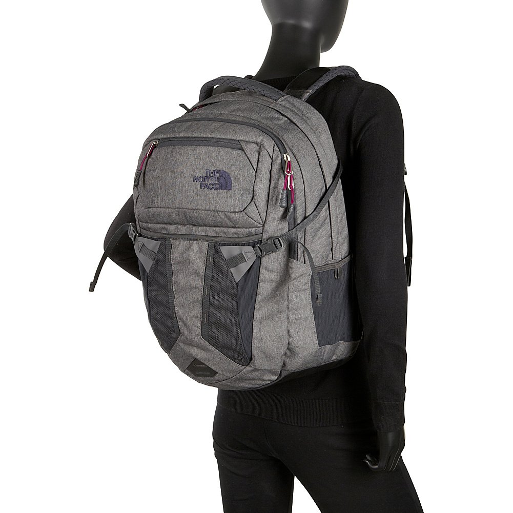 Amazon.com: The North Face Recon Womens Pack Galaxy Purple/Fire Brick Red (31L): Sports & Outdoors