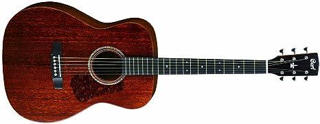 Cort Luce L450C - Guitarra acústica (tapa y fondo de caoba maciza ...