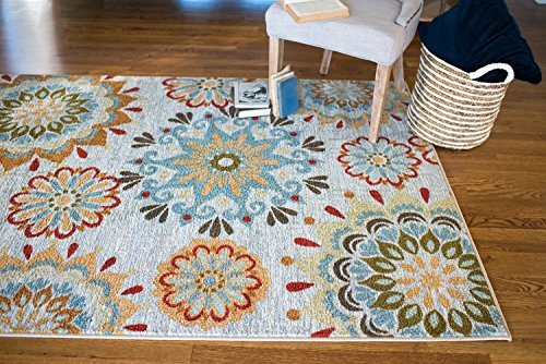 Mohawk Home Strata Global Goddess Multi Rug, 8'x10'