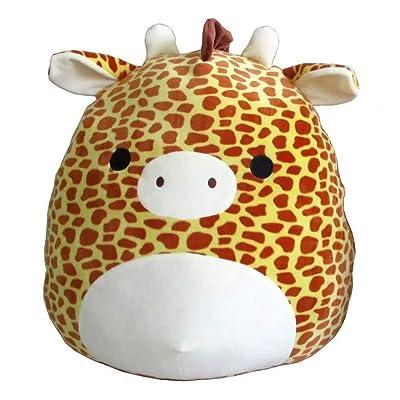 """Kellytoy Squishmallow 13"""" Animal Giraffe Soft Plush Toy Pillow: Toys & Games"""