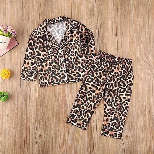 Kehen Infant Baby Satin Pajamas Toddler Girl Boy Summer Pjs Set,2PC Short Sleeve Button-Down Sleepwear Soft Home Wear