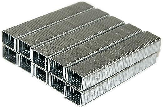 11,3 mm Breite und 8 mm Länge Tackerklammer 1000 Heftklammern