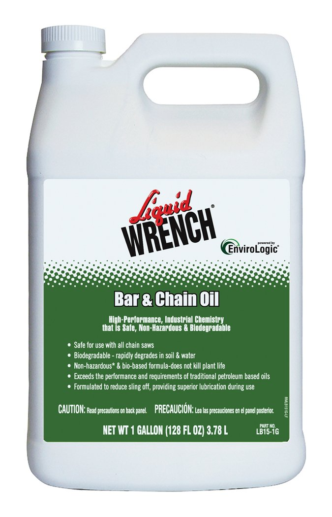 Liquid Wrench LB15-1G-4PK Bar and Chain Oil - 1 Gallon, (Case of 4)