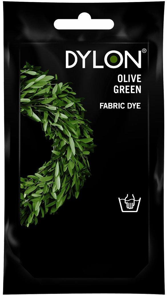 Dylon tintura per lavaggio a mano verde oliva 50g Spotless Punch Limited