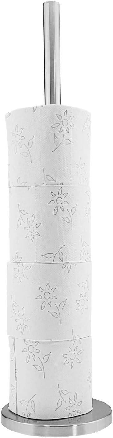 Edelstahl rostfrei Rollenhalter Papierhalter Quantio Toilettenpapierhalter Ersatz Papierrollenhalter WC