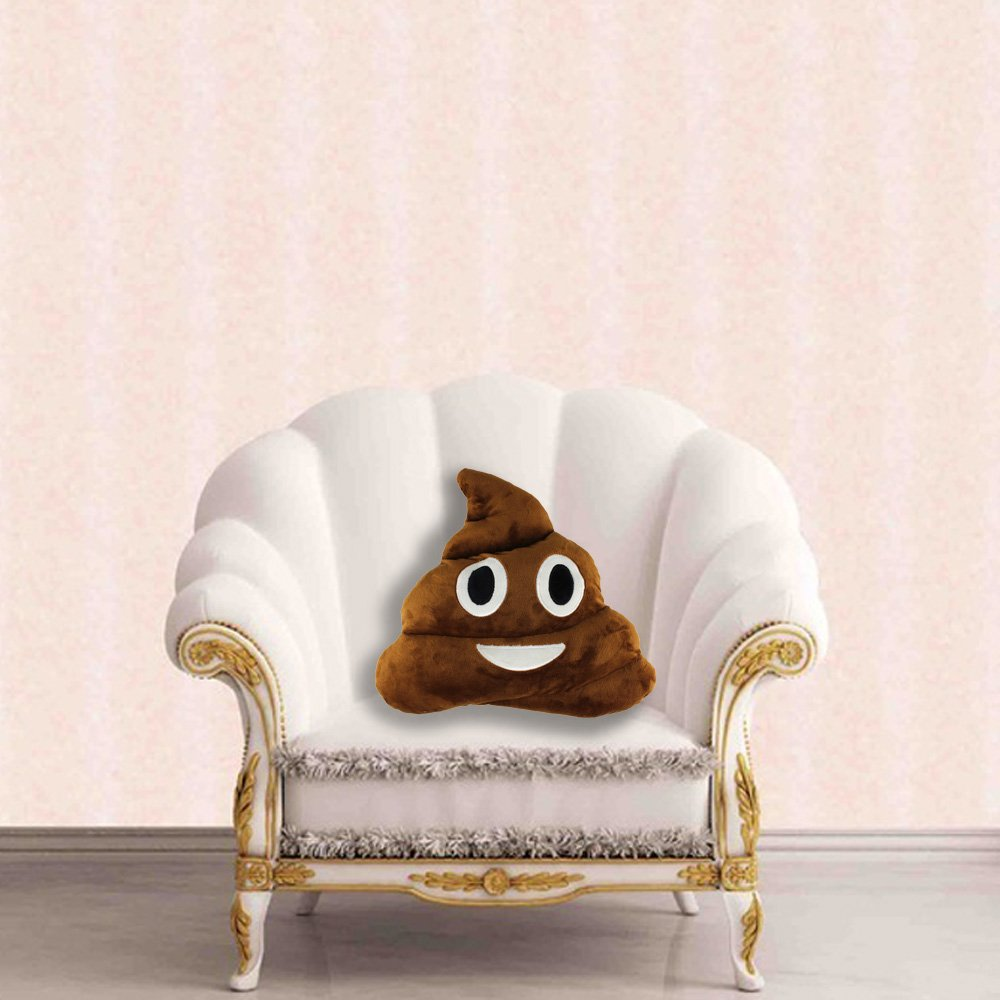 13.8'' Cute Emoji Emoticon Cushion Poo Shape Pillow Stuffed Doll Toy Plush Toy Children Adult Home Decor,Great Birthday Gift Christmas Gift for Boys and Girls by Sealive (Image #5)