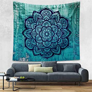 SDAHY Mandala Tapestry Indian Elephant Tapestry Forest Bohemian Tapestry Wall Tapestry Wall Hanging Tapiz Pared Mandala