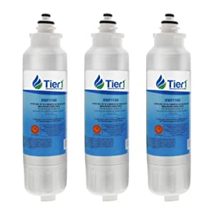 Tier1 Replacement for LG LT800P, ADQ73613401, ADQ73613402, Kenmore 9490, 46-9490, 469490, ADQ32617801 Refrigerator Water Filter 3 Pack