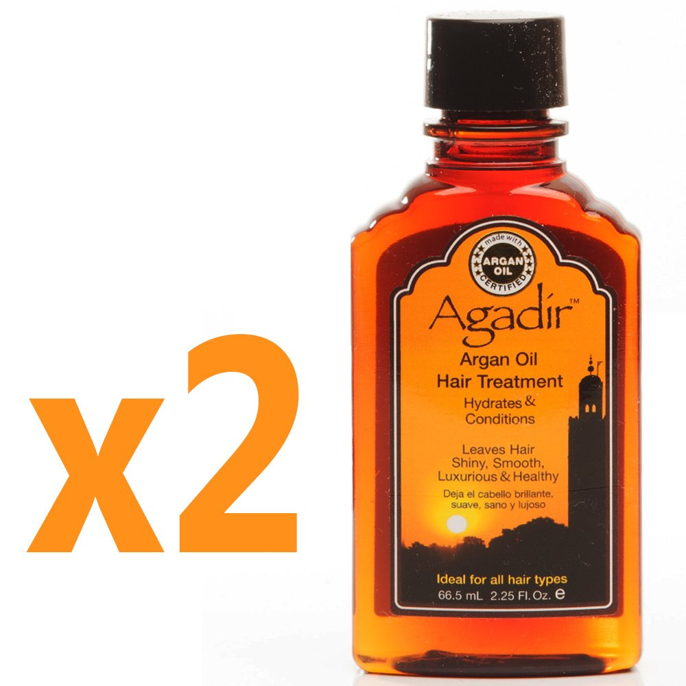 Agadir Argan Oil Hair Treatment 2.25 fl oz (Set of 2)