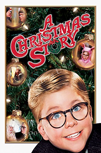 Posters USA – A Christmas Story Original Movie Poster GLOSSY FINISH – FIL703 (24″ x 36″ (61cm x 91.5cm))