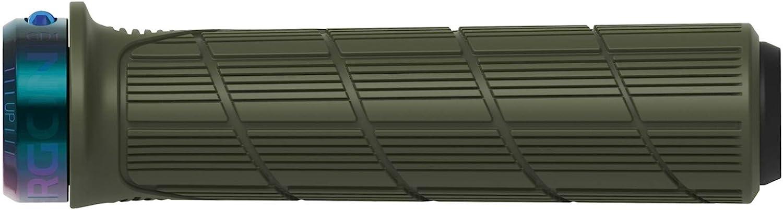 Ergon Grips Technical-GD1 EVO Slim Factory Verde Moss Frozen//Collares Oil Slick Mango de Bicicleta Adulto Unisex Talla /Única