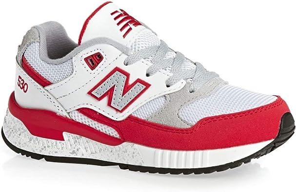 New Balance KL530RGG 530 Big Kid Red//White Sneaker