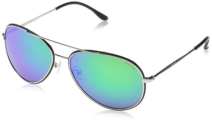 Police S829958K07G Gafas de Sol, Verde, 58 Unisex: Amazon.es ...