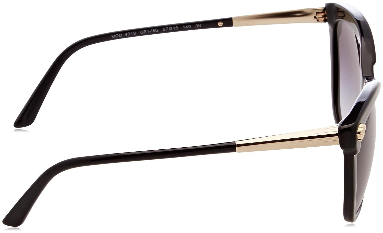 d6f01ae80c432 Amazon.com  Versace VE4313 Black Sunglasses  Clothing