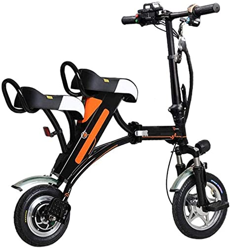 Bicicleta Plegable Eléctrica, 12 Pulgadas Marco De Aleación De ...