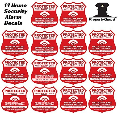 CPI Security Decal Stickers Lot of 3