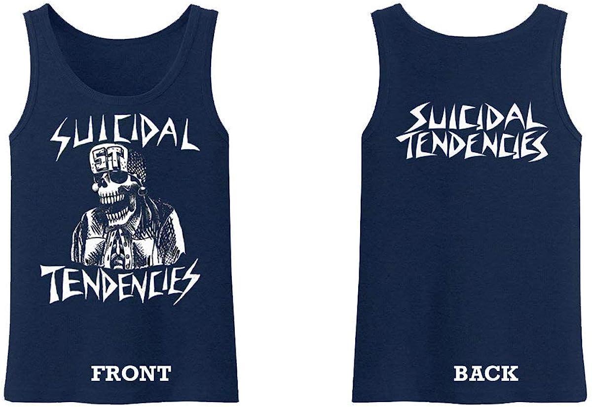 Suicidal Tendencies Official Flipskull Men Cotton Tank