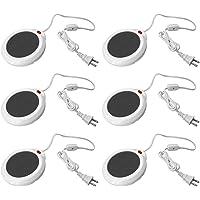 Evelots 1o 6calentadores de taza, calentador eléctrico de taza y bebidas, calentador, oficina y el Hogar
