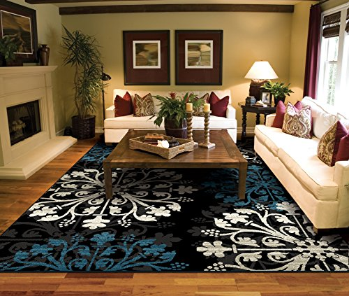 Black Area Rugs for Living Room 5×7 clearance Prime Rugs For Sale