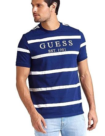 diseño de calidad 0d479 7edb6 Guess - Camiseta - para Hombre: Amazon.es: Zapatos y ...