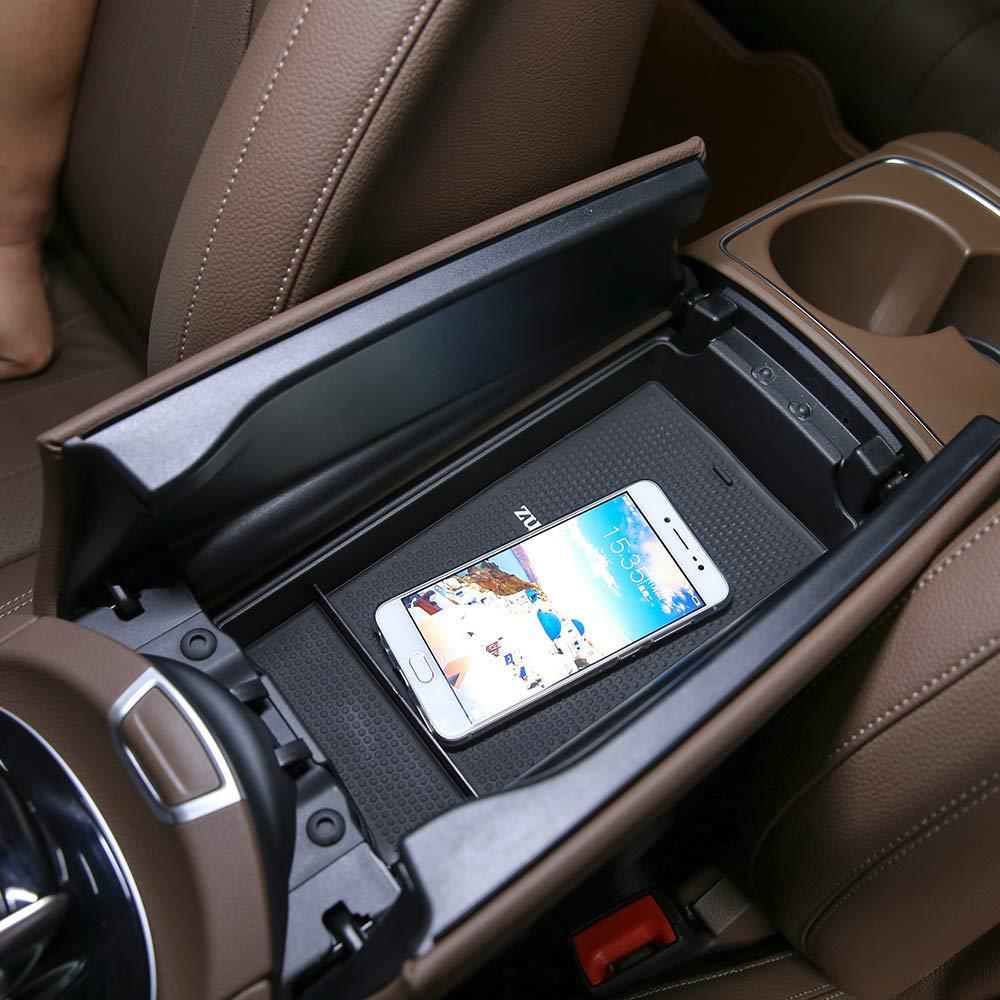 TongSheng Car Center Console Armrest Storage Box Holder Tray for Mercedes Benz E Class W213 E200 E300 2016-17