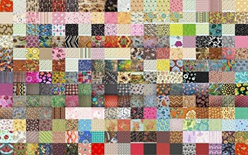 100 Assorted Quilt Charms 5
